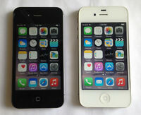 Two Apple iPhone 4S 8GB with Telus & Koodo Excellent Condition
