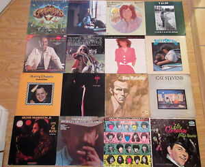 Vinyl Record LPs Collection of LP Records