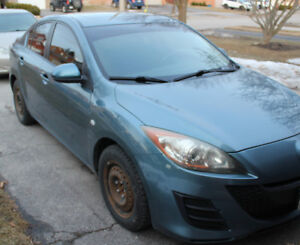2010 Mazda Mazda3 GS with Convenience package Sedan