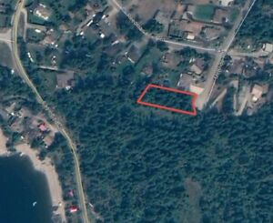 ALMOST 1/2 ACRE CLEARED AND SERVICED BUILDING LOT in BC