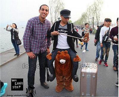 Erwachsene Teddybär (Neue TeddybäR-Maskottchen-KostüM Tragen Fahrt Auf Mir Erwachsene Partei-Kleid de)