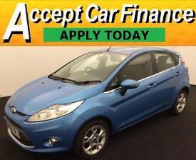 Ford Fiesta 1.4TDCi 70 DPF 2012MY Zetec FROM £27 PER WEEK