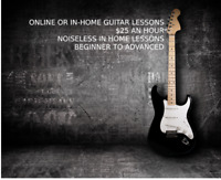 ROCK GUITAR LESSONS: Beginner to Advanced, In-Home or Online!