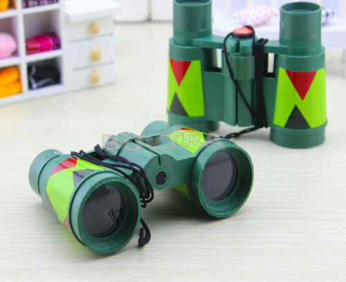 Children's Novelty Toys Educational Cheap Camouflage Binoculars Cute TS UK