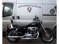 AMAZING 2006 HARLEY DAVIDSON XL1200L LOW SPORTSTER RARER CARB MODEL, 2 OWNERS,