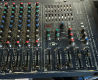Powered Mixer 12 channel Audio Pro 512