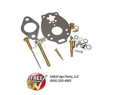 Carburetor Rebuild Kit Massey Ferguson Mf 35 50 135 150 To35 202 204 Harris 50