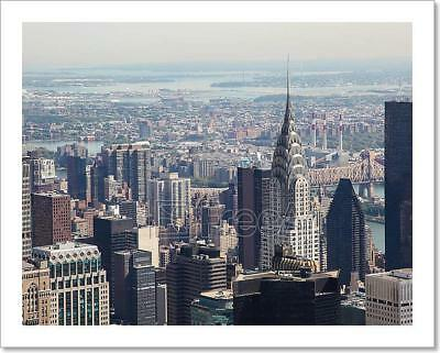 Skyline Of Manhattan Art Print Home Decor Wall Art Poster - F