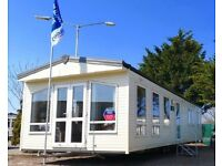 static caravan for sale, Finance available, Sited in Essex, Site fees included