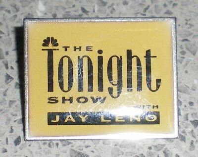 THE TONIGHT SHOW JAY LENO WIGHT-PIN-ANSTECKER-ALT -ca :3,4 x 2,6 cm-MU 33/18-ak