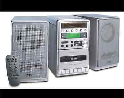 Philips Micro Hi-Fi System MC-120 Kompakt Anlage