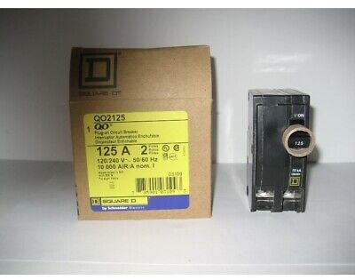 Square D Qo2125 125a Circuit Breaker
