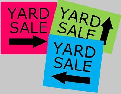 Stencil Yard Sale Signs Garage Sale Rummage Sale DIY Yard Sign](Diy Yard Signs)