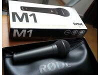 RØDE M1 Dynamic Live Vocal Microphone - Rode Mic, like shure