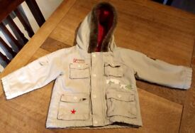 light parker style baby jacket age 23 months