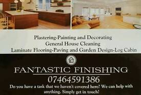 Maintenance services, plastering, painting & Decorating, laminate flooring, tiles services...