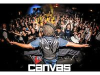 Canvas are Hiring Chef, Bartenders, Bar Backs and Waitresses.