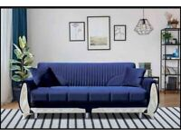 SOFA-BED BRAND NEW AVAILABLE IN 5 DIFFERENT COLOURS SAME/NEXT DAY DELIVERY