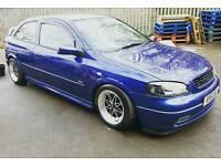 **£695**modified Vauxhall Astra mk4 3door hatchback 12months MOT 96000 miles BARGAIN ****
