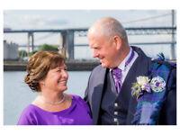 Wedding photographer from £595. photography covering Edinburgh, Falkirk, Livingston, Glasgow, Fife