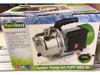 Garden Pump New**