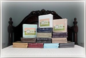1800 Thread Count Sheets available in various sizes and colors