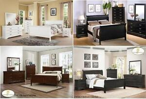 NEW!!! King Box Spring and Mattress with Dresser, Mirror and King Bed just $1499+HST.
