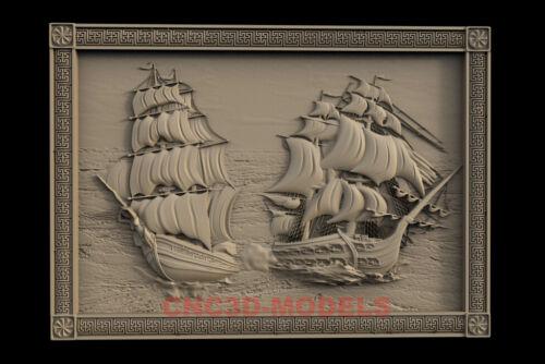 3D Model for CNC Router STL File Artcam Aspire Vcarve Wood Carving.IS335