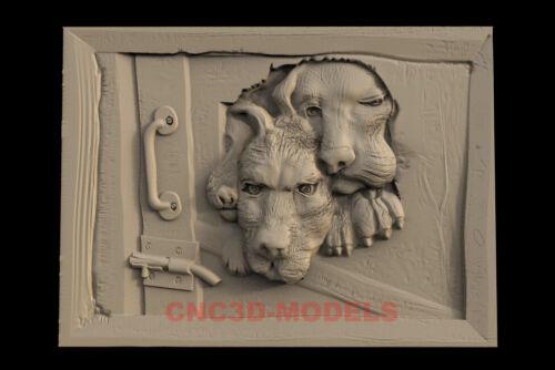3D Model for CNC Router STL File Artcam Aspire Vcarve Wood Carving.IS338