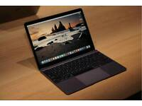 Space grey macbook 12inch 2015