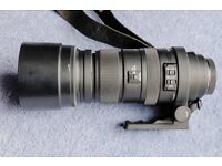 Sigma Lens 120-400mm f4.5-5.6 for Sony A mount