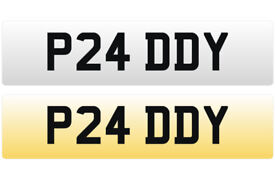 P24 DDY - PADDY Cherished Personalised Registration Number Plate On Certificate ready to transfer