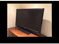 """Sony 37"""" full hd 1080p tv with freeview and hdmi"""