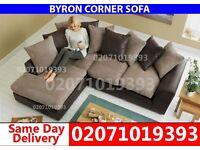 Brown/Beige Corner Sofa--Order Now!