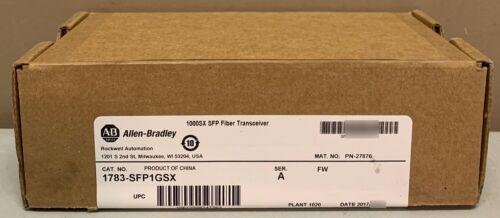 New Sealed Allen Bradley 1783-SFP1GSX /A Stratix Fiber Optic SFP Transceiver