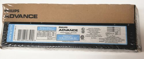 Phillips Advance ICN-3TTP40-SC Ballast IntelliVolt 120V to 277V 50/60Hz