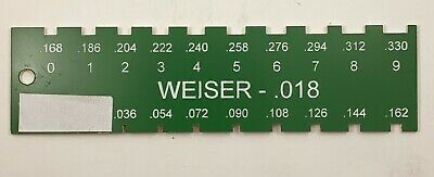 Locksmith Pin Gauge For Weiser