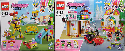LEGO PowerPuff Girls 41288 Angriff von Mojo 41287 Bubbles Spielplatzabenteuer