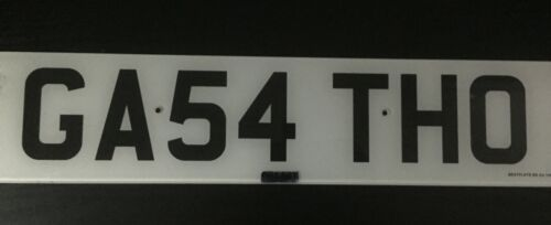 +CHERISHED+%2F+PRIVATE+NUMBER+PLATE+GA54+THO