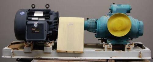 "Leistritz Screw Pump and Motor Pump L2NG-116/180-AHGKI-G, 8"" X 8"", W/ Skid CS"