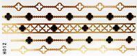 Tatuaggio Oro Una Volta Flash Colla Temporaneo 2teile Bracciale Piede Wow H12 -  - ebay.it