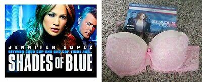 Jennifer Lopez SHADES OF BLUE Worn Used Victorias Secret Bra w/NBC Studio COA