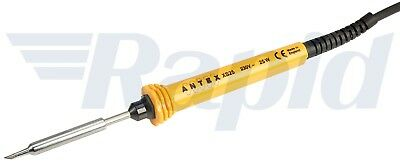 Antex S58J4H8 XS25W Soldering Iron 230V with Silicone Cable and 13A Plug