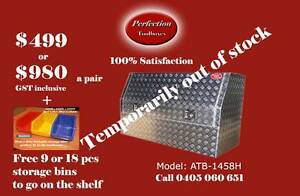 New  heavy duty marine grade aluminium checkerplate ute toolbox Brisbane City Brisbane North West Preview
