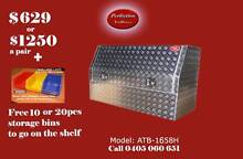 New heavy duty 1600x530x820 aluminium checkerplate toolboxes Everton Hills Brisbane North West Preview