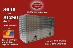 Rectangle square edge 2.5mm aluminium toolbox 1500x550x850 Brisbane City Brisbane North West Preview