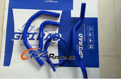 For Atv Yamaha Banshee 350 Yfz350 1987 2006 Silicone Radiator Hose Blue 88 00 05