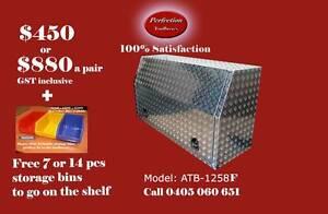 New heavy duty 1200x530x820 full door aluminium ute tool box Brisbane City Brisbane North West Preview