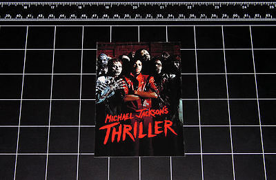 Michael Jackson Thriller vinyl decal sticker retro pop music 1980s 80s zombie ](Michael Jackson 80s)