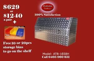 New heavy duty 1600x530x820 aluminium checkerplate toolboxes Brisbane City Brisbane North West Preview
